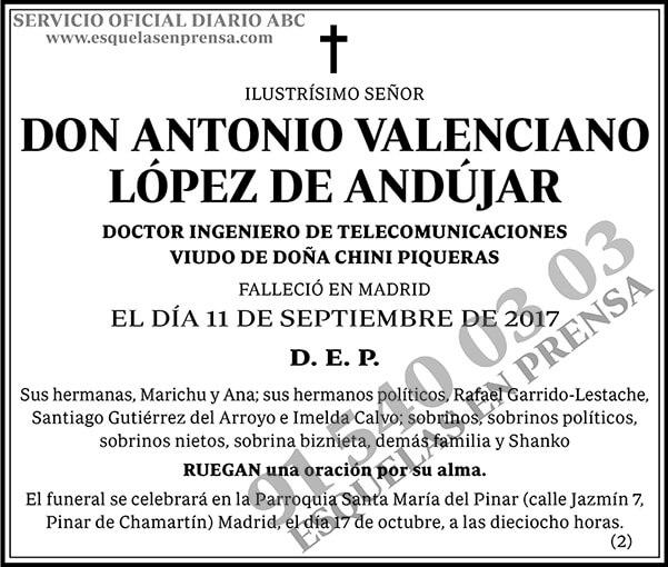 Antonio Valenciano López de Andújar